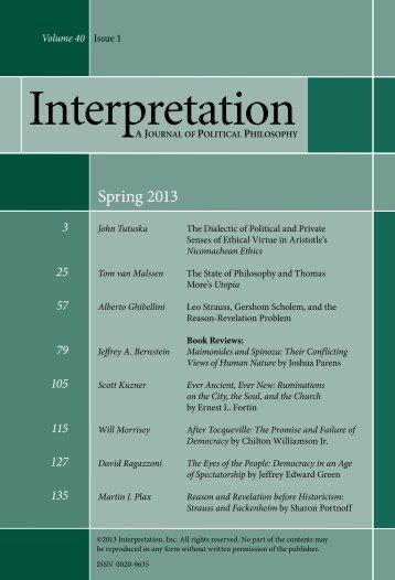 Download this Issue (pdf) - Interpretation