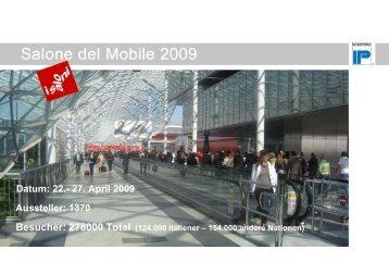 Messebericht Salone del Mobile 2009 - interprint