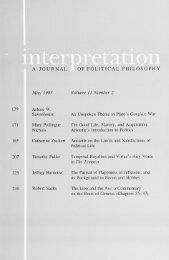 May 1983 - Interpretation