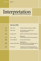 Spring 2006 - Interpretation