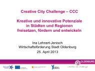 Präsentation Projekt CCC