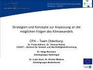 Präsentation Projekt CPA