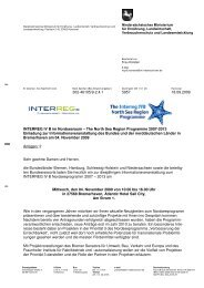Einladungsschreiben - Interreg IV B