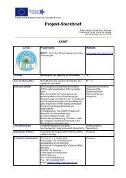 Projekt-Steckbrief als PDF-Datei