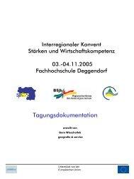 04.11.2005 Fachhochschule Deggendorf - RISE