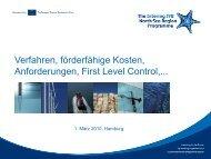 Verfahren, förderfähige Kosten, Anforderungen ... - Interreg-Nordsee