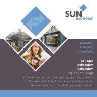 Le développement économique des quartiers urbains