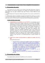 Lycée Janot - Partie 1 - Intersections