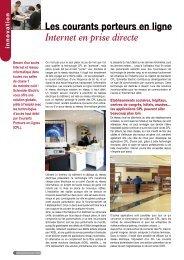 Les courants porteurs en ligne - Intersections - Schneider Electric