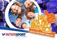 Gutschein - Intersport Kaufhaus Tyrol - Sport OKAY