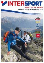 PLANINARENJE I KAMPIRANJE 2011 - intersport