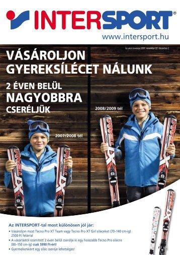 VÁSÁROLJON GYEREKSÍLÉCET NÁLUNK NAGYOBBRA - Intersport