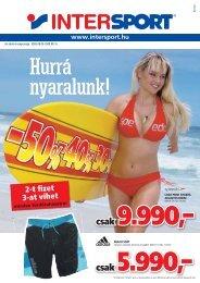 Jubileumi árak - Intersport
