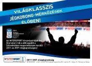 2011 IIHF világbajnokság - Intersport