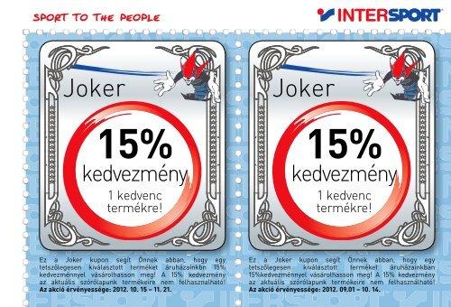 15% - Intersport