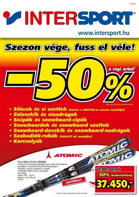 Szezon vége, fuss el véle! - Intersport