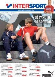JÓ TANULÓ, JÓ SPORTOLÓ - Intersport