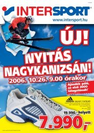 2006. 10.26. 9.00 órakor - Intersport