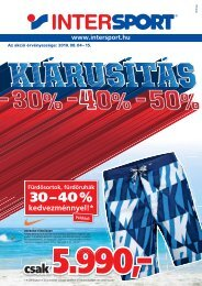 30 – 40 % - Intersport