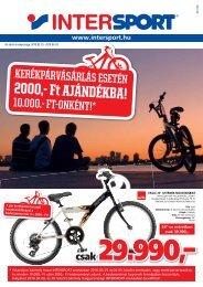 2000,- Ft AJÁNDÉKBA! - Intersport