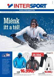 csak 16.990,– - Intersport