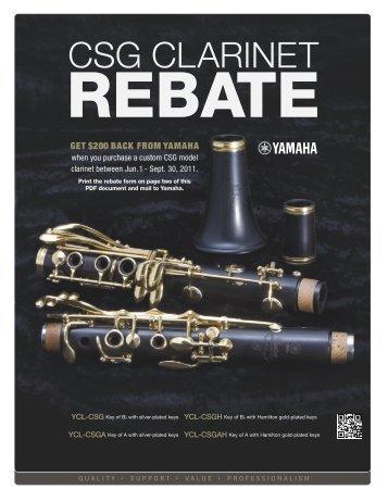 Rebate Form - Cascio Interstate Music