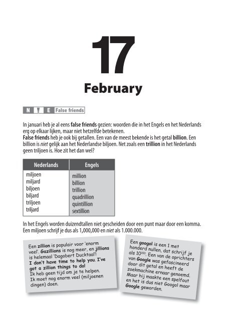 16 February Rogets The