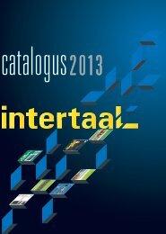 Uitgeverij Intertaal Catalogus 2013 - Engels