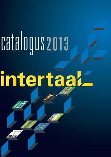 Uitgeverij Intertaal Catalogus 2013 - Italiaans