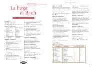 La Fuga di Bach - Intertaal