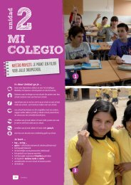 Gente joven 1 - nieuwe editie tekstboek Unidad 3 - Intertaal