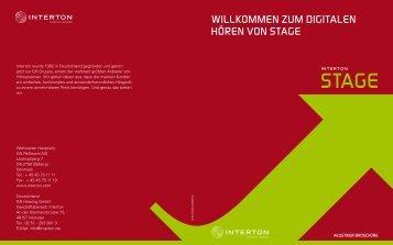 Stage Dispenser brochure (Zuletzt aktualisiert 19.07.2012) - Interton