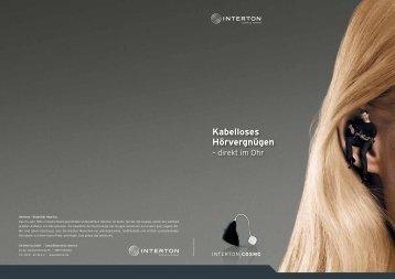 Cosmo dispenser brochure (Zuletzt aktualisiert 19.07.2012) - Interton