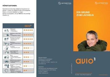Avio 1 End User Brochure DE (Zuletzt aktualisiert 19.07 ... - Interton