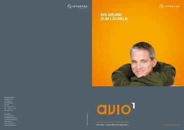 Avio 1 Dispenser brochure DE (Zuletzt aktualisiert 19.07 ... - Interton