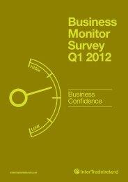Business Monitor Survey Q1 2012 - IntertradeIreland