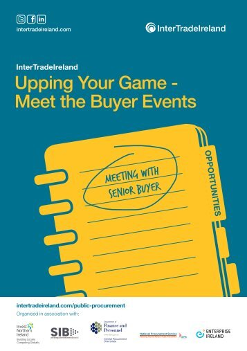 Upping Your Game - Meet the Buyer Events - IntertradeIreland