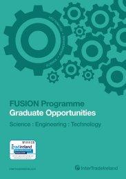 FUSION Graduate Brochure - IntertradeIreland
