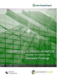 Business Monitor Q1 results - Full report - IntertradeIreland