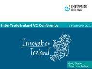 Greg Treston - Enterprise Ireland - IntertradeIreland