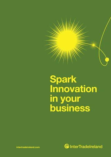 Spark Innovation in your business - IntertradeIreland