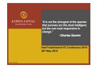 Building Strategic Value in Pre Revenue ... - IntertradeIreland