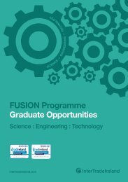 FUSION Programme Graduate Opportunities - IntertradeIreland