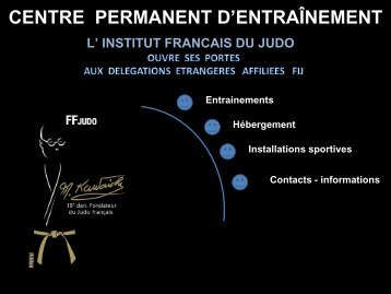 INSTITUT NATIONAL DU JUDO - International Judo Federation
