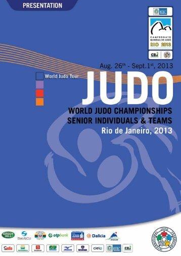 RIO DE JANEIRO, Brazil!!! - International Judo Federation