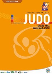 GP Dusseldorf - Information (pdf) - International Judo Federation