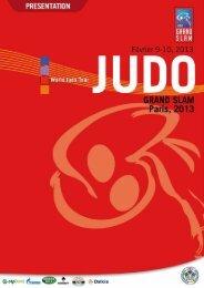 JUDO GRAND SLAM, Paris 2013 13. PROGRAMME - International ...