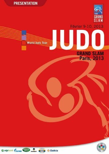 JUDO GRAND SLAM, Paris 2013 13. PROGRAMME - International ...