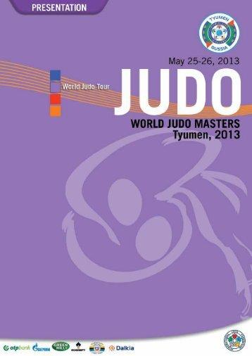 JUDO WORLD MASTERS, Paris 2013 13. PROGRAM - International ...