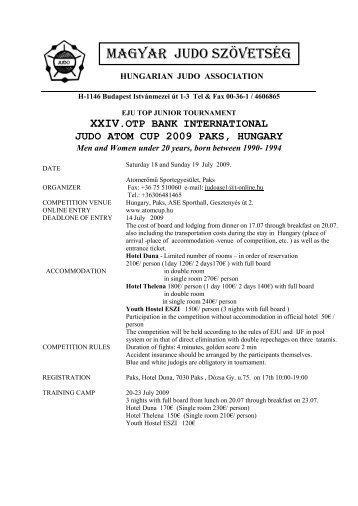 Outlines (pdf) - International Judo Federation